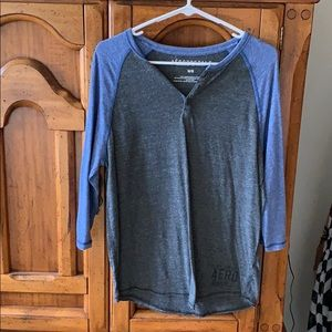 Men's Aeropostale 3/4 shirt (Medium)